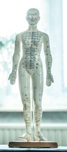 Pop voor shiatsu-therapie.